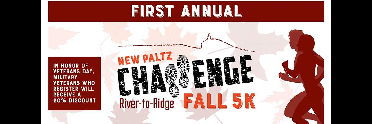 New Paltz Challenge River to Ridge Fall 5k Banner Image