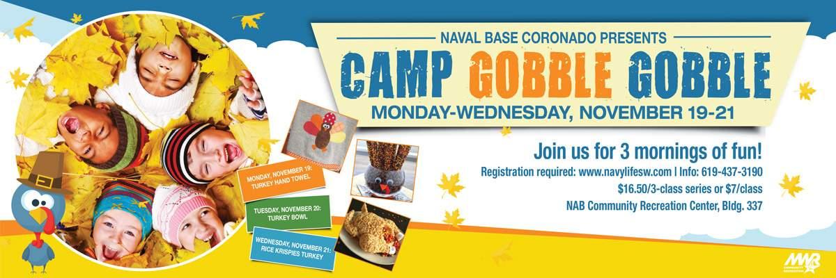 Camp Gobble Gobble Banner Image