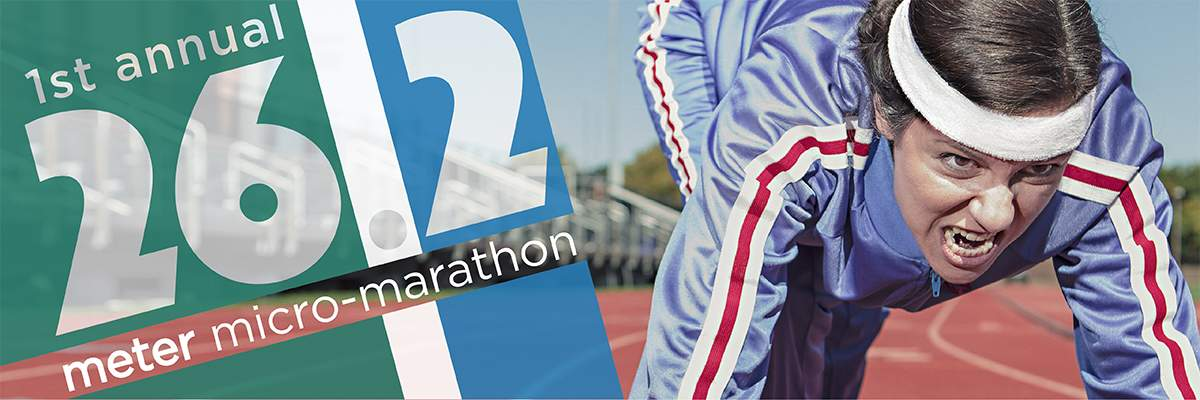 26.2 Meter Micro-Marathon | A Race For The Rest Of Us Banner Image