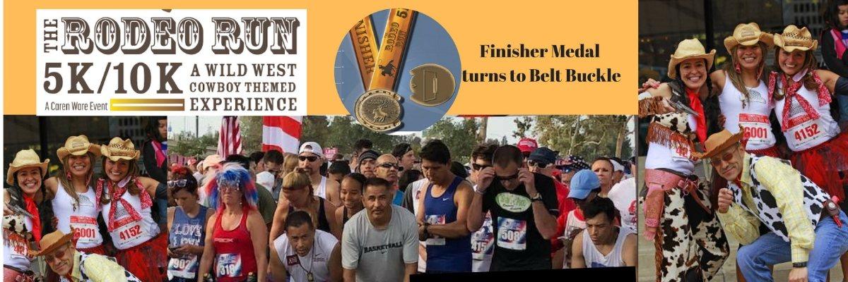 The RODEO RUN 5K/10K Banner Image