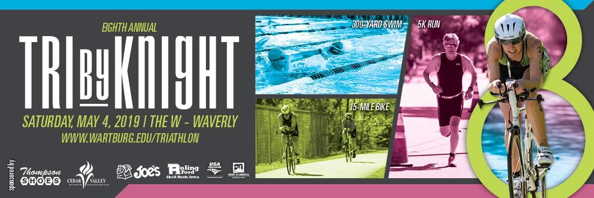 TriByKnight Triathlon Banner Image