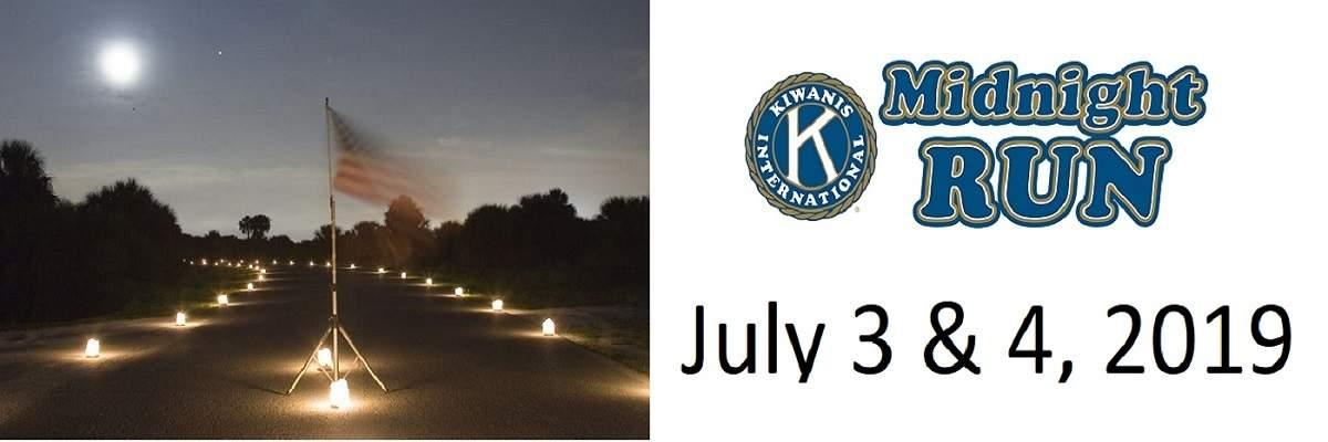 Kiwanis Midnight Run Banner Image