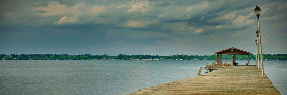 White Lake Fall Half Banner Image