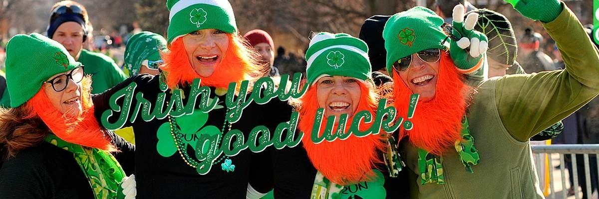 Lucky Leprechaun Duathlon & 4 Mile Run Banner Image