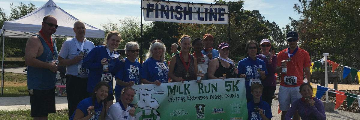 Milk Run/Walk 5K Banner Image