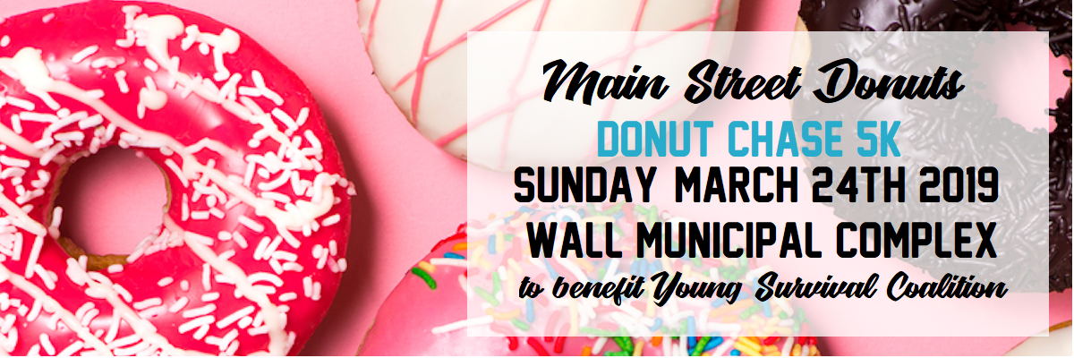 **SOLD OUT**Main Street Donut Chase 5K and 1 Miler Banner Image