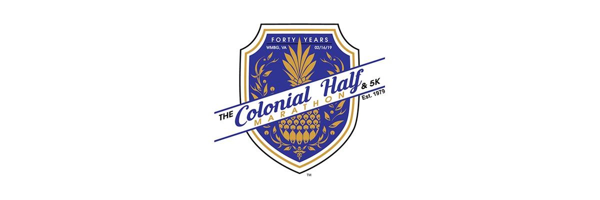 40th Colonial Half Marathon and 5K Banner Image