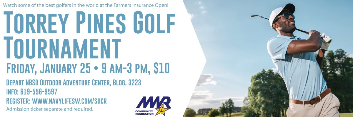 Torrey Pines Golf Tournament Banner Image