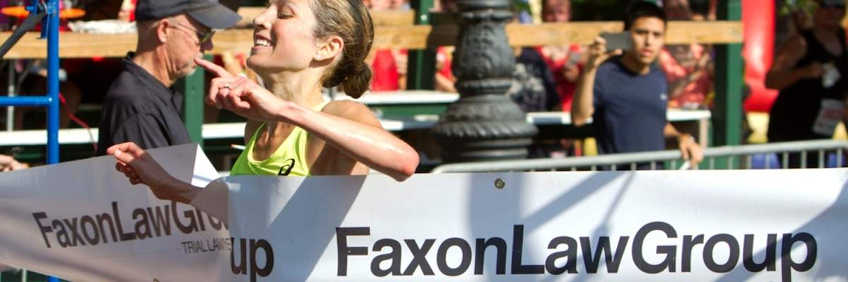 Faxon Law New Haven Road Race Banner Image
