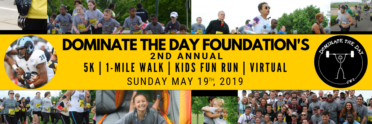 2nd Annual Dominate the Day 5K Banner Image