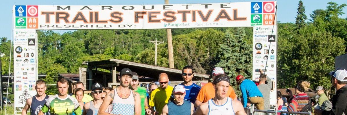 Marquette Trails Festival Banner Image