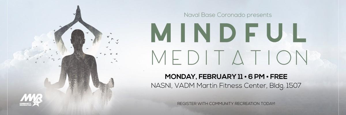 Mindful Meditation Banner Image