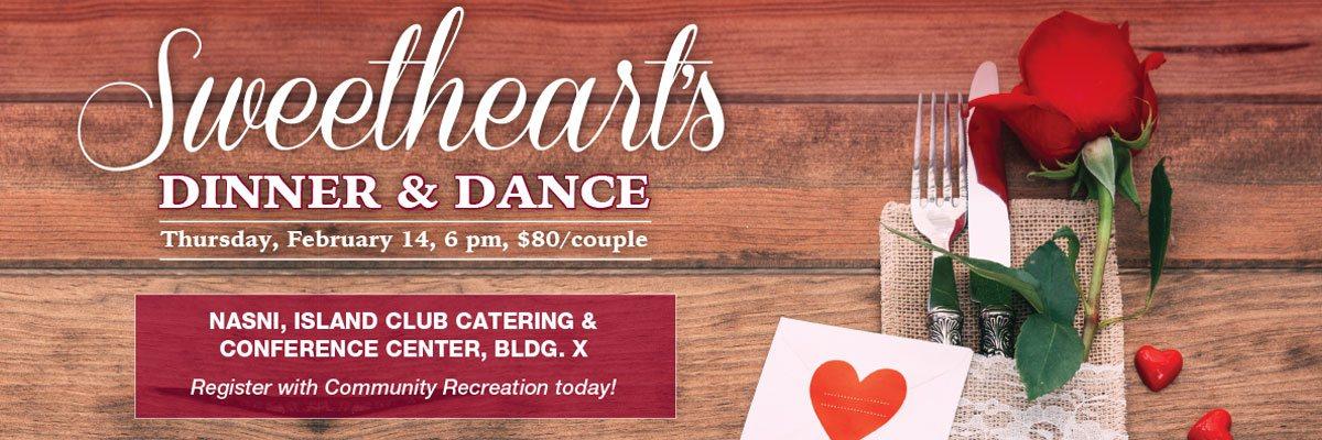 Sweetheart's Dinner & Dance Banner Image