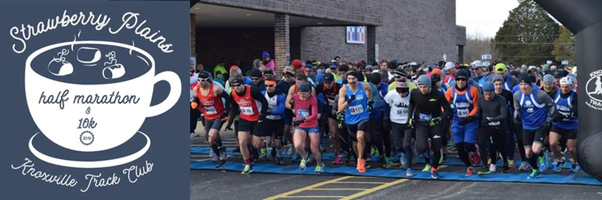 2019 Strawberry Plains Half Marathon and 10K presented by Eddie's Health Shoppe & ZenEvo Chocolate Banner Image