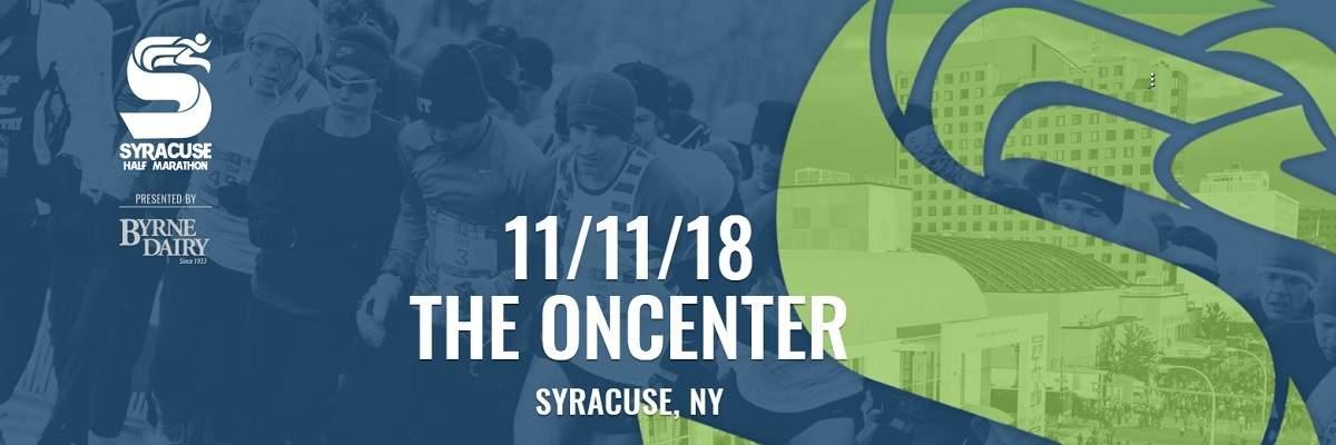 2018 Syracuse Half Marathon - Presented by Byrne Dairy Banner Image