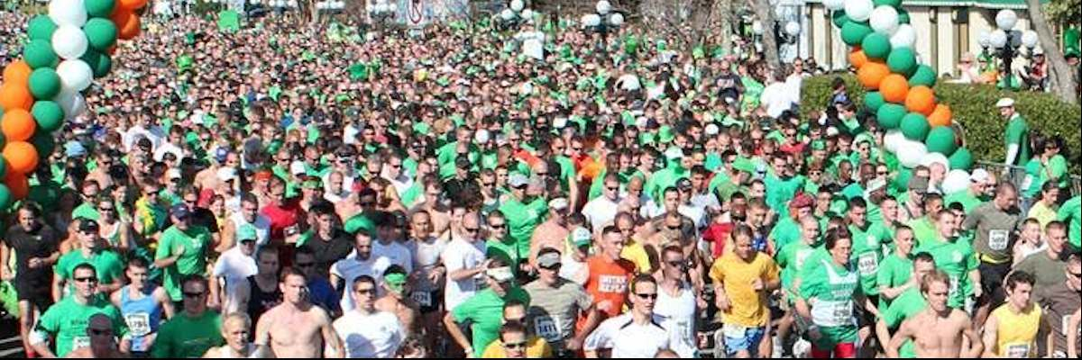 McGuire's St. Patrick's Day Prediction 5K Run Banner Image