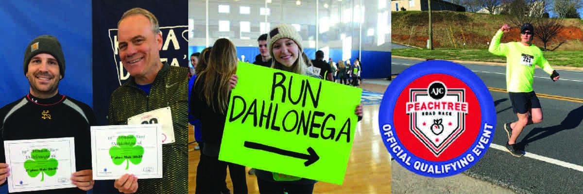Run Dahlonega 5K Banner Image
