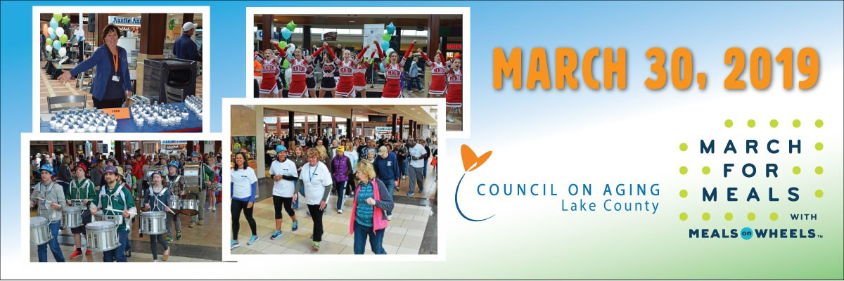 Council on Aging March For Meals Banner Image