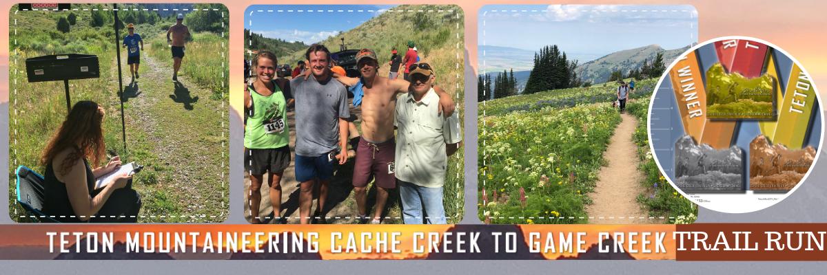 Teton Mountaineering Cache Creek Trail Run Banner Image