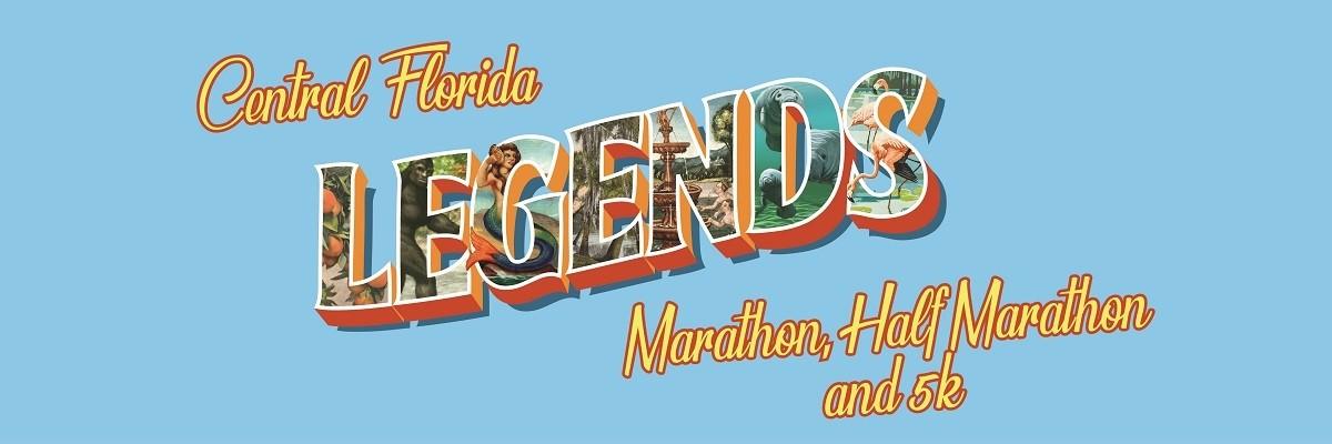 Central Florida Legends  Marathon, Half Marathon and 5K Banner Image