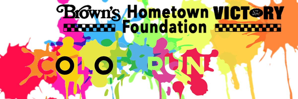 Get Up and Move 5K Color Run & 800M Dash Banner Image