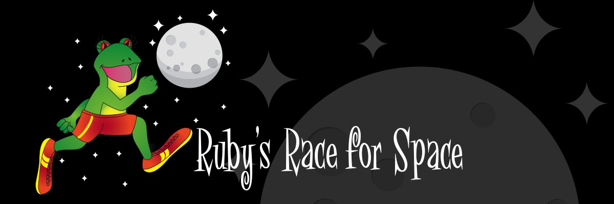 WBGU-TV Great American Run: Ruby's Race For Space Banner Image