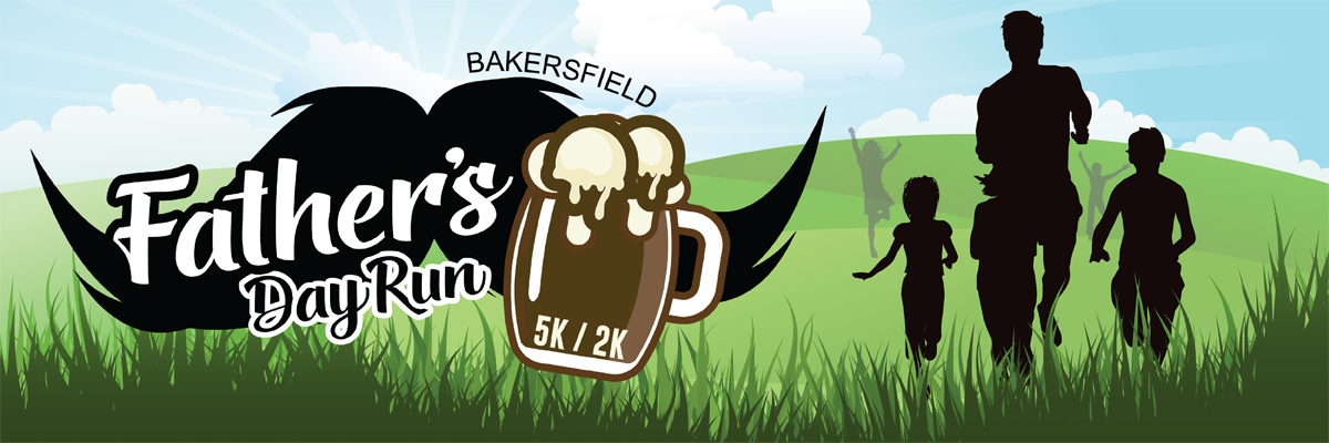 Bakersfield Father's Day Run Banner Image