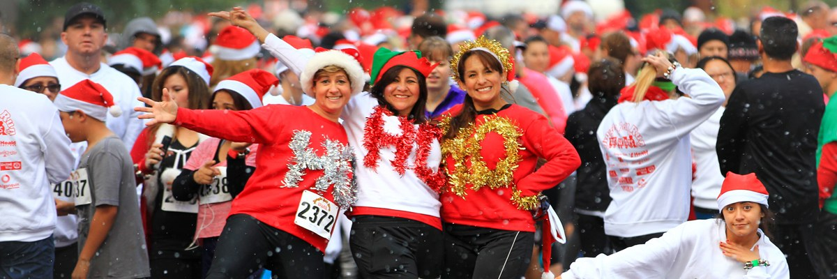 Bakersfield Jingle Bell Run for Toys for Tots Banner Image