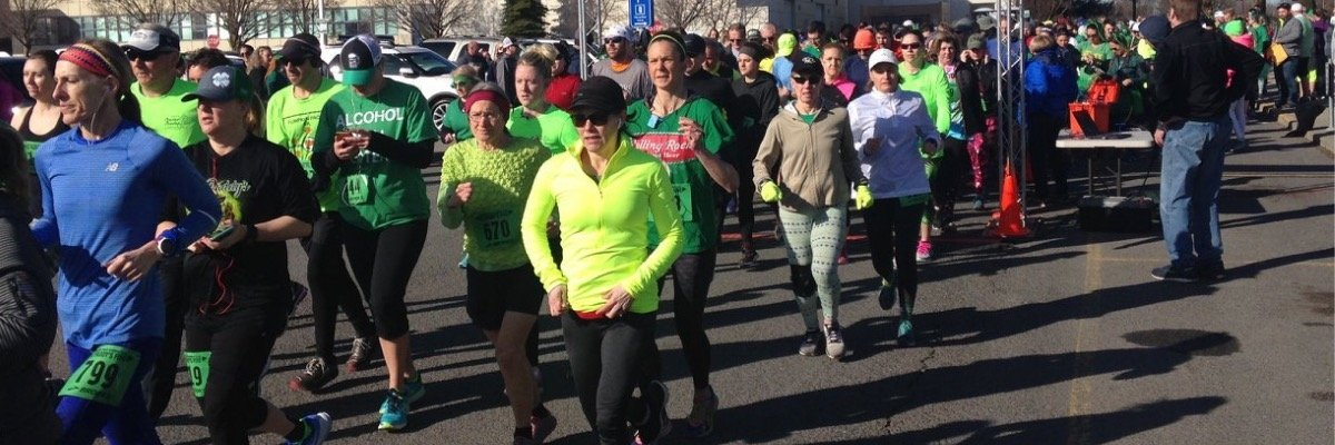 36th Annual St. Paddy's Five Miler Banner Image
