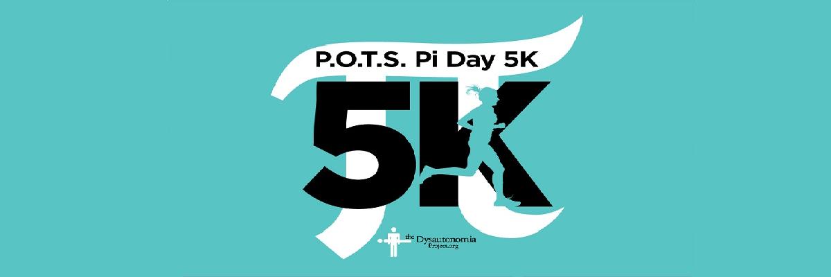 POTS Pi Day 5K Banner Image