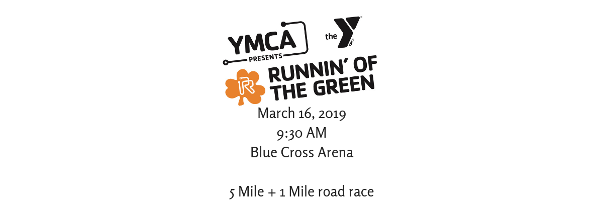 Runnin' of the Green presented by the YMCA Banner Image