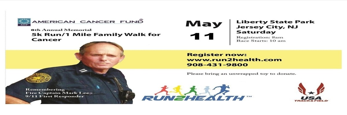 6th Annual Memorial 5k Run and 1 Mile Family Walk For Cancer Banner Image