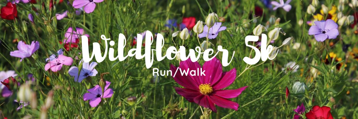 Wildflower 5k Run/Walk Banner Image