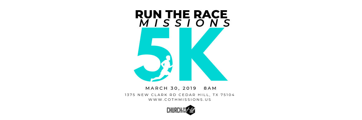Run the Race: A Missions 5k Banner Image