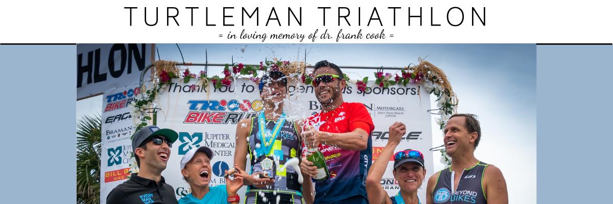 Turtleman Triathlon Banner Image
