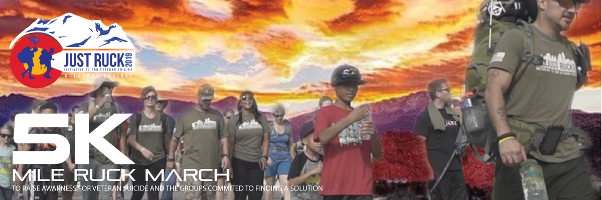 Just Ruck 5K, Colorado Springs (Garden of the Gods) Banner Image