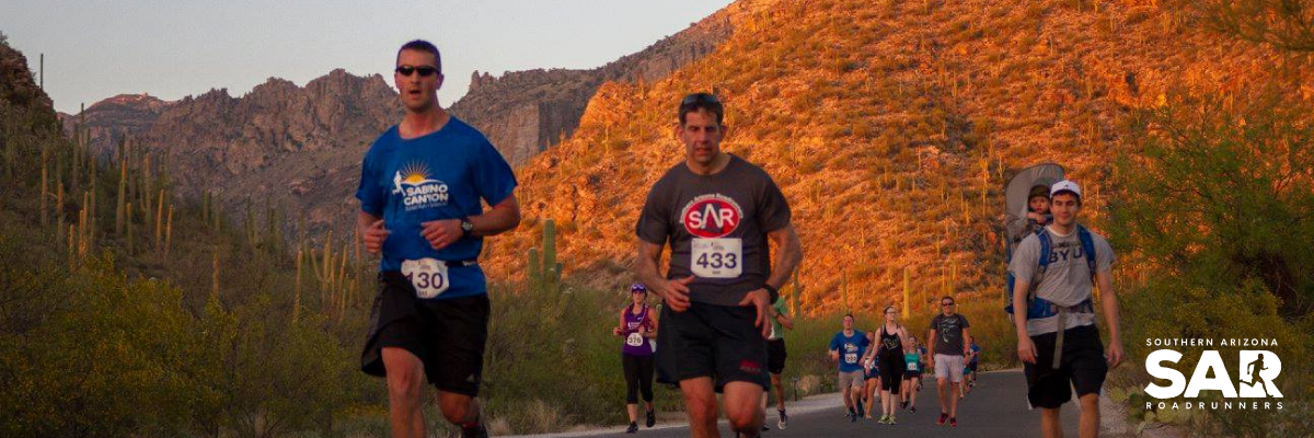 40th Annual Sabino Canyon Sunset Run Banner Image