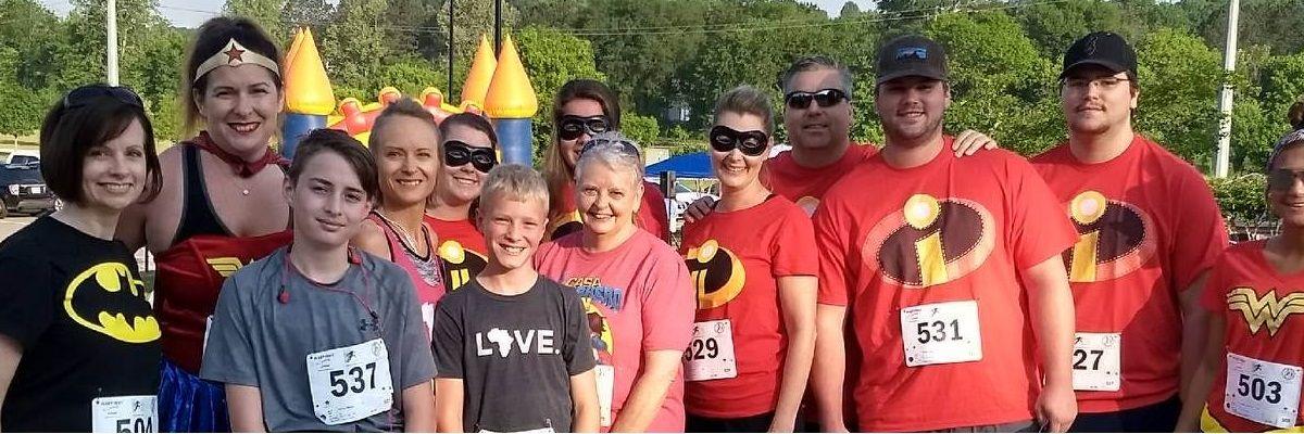 CASA Superhero Run of Cherokee County Banner Image