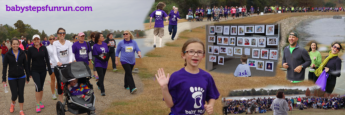 Baby Steps Nashville - Infertility Awareness Walk & Fun Run Banner Image