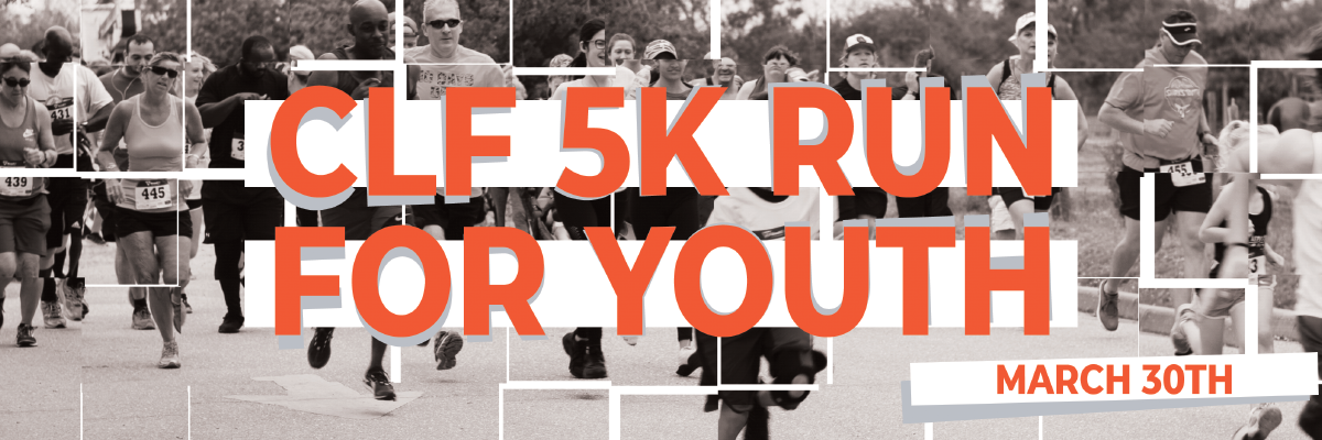 CLF 5K Run for Youth Banner Image