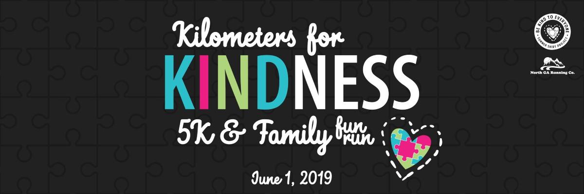 Kilometers for Kindness 5K Banner Image