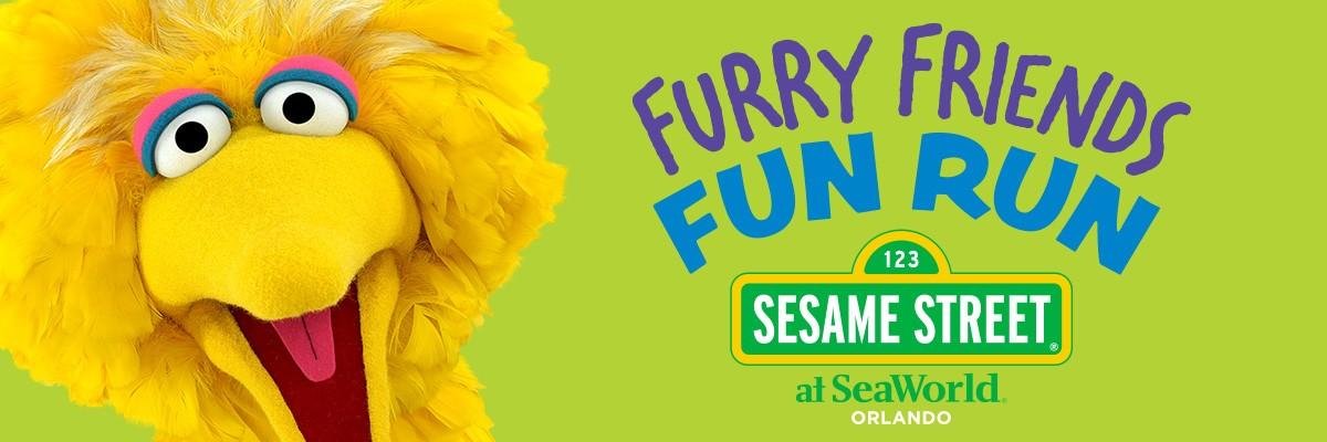 Furry Friends Fun Run at Sesame Street at SeaWorld Orlando Banner Image