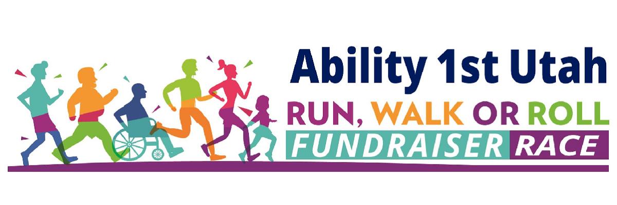 Ability 1st Utah Run, Walk or Roll 5K & Kids 1K Banner Image