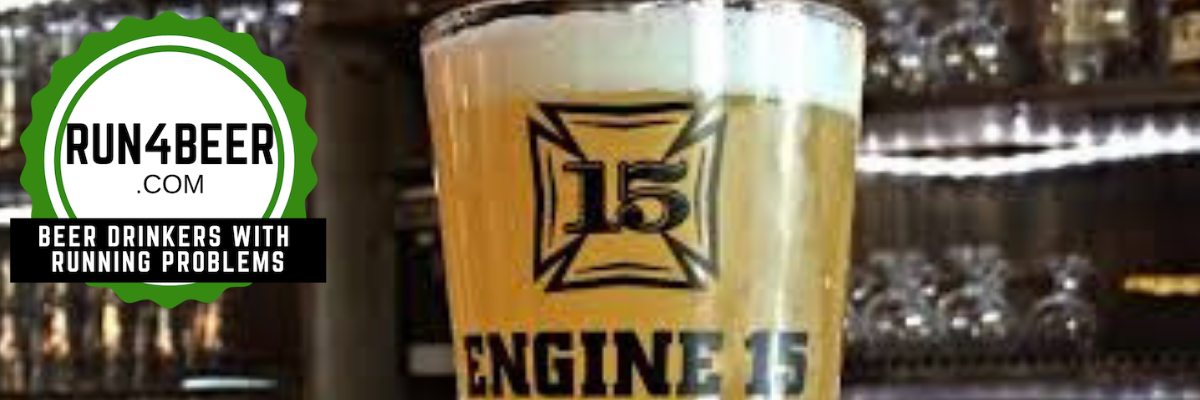 Engine 15 Brewing Company Rails to Trails  5k Running Expedition and 1 mile fun run and Beer Tasting Banner Image