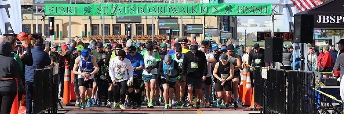 St. Pat's Boardwalk 10 miler & 5k run Banner Image