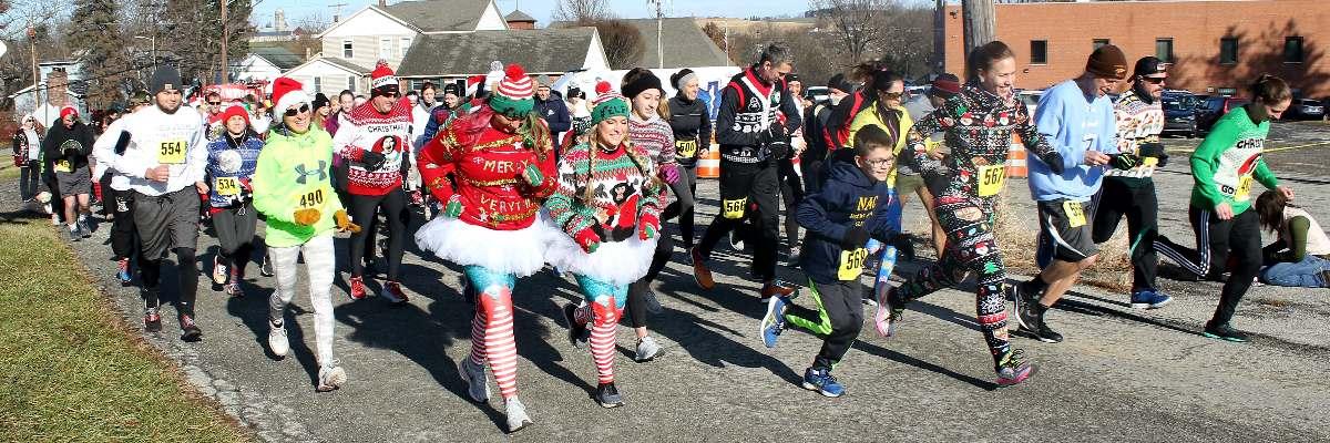 Christmas Walk Through 2020 Pa Saint Bartholomew Church Ugly Christmas Sweater 5k & 2 Mile Walk