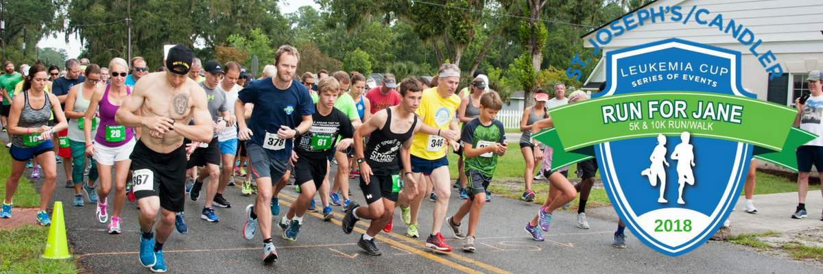 Leukemia Cup Run for Jane 5K/10K Banner Image