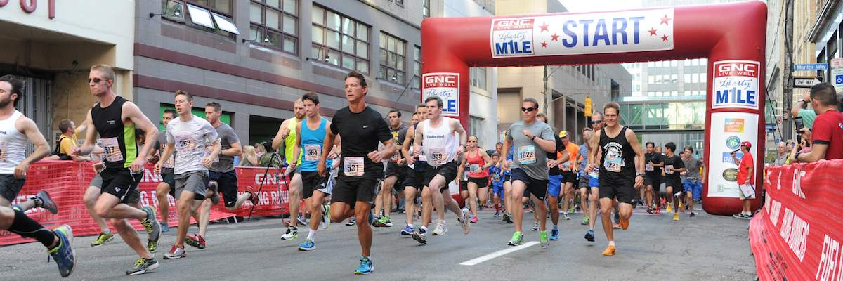GNC Live Well Liberty Mile Banner Image