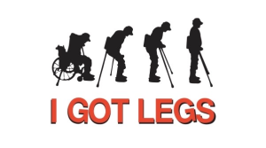 DONATE TO I GOT LEGS Donation Logo