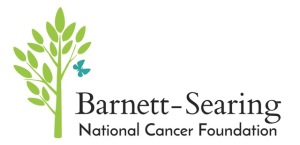 The Barnett-Searing National Cancer Foundation Donation Logo